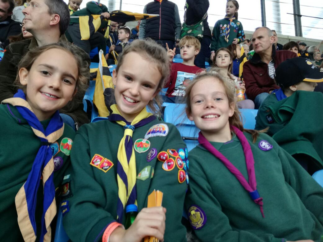Leek Wootton Cubs loved WASPS for Cubs100